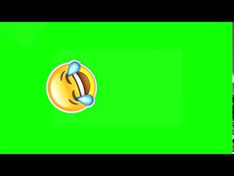 Animated Emoji Green Screen