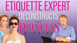 Etiquette Expert Reacts to The Princess Diaries