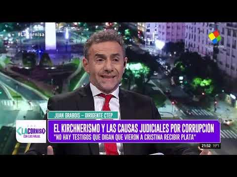 Grabois: No hay ningún testigo que diga que la vio a Cristina recibiendo plata
