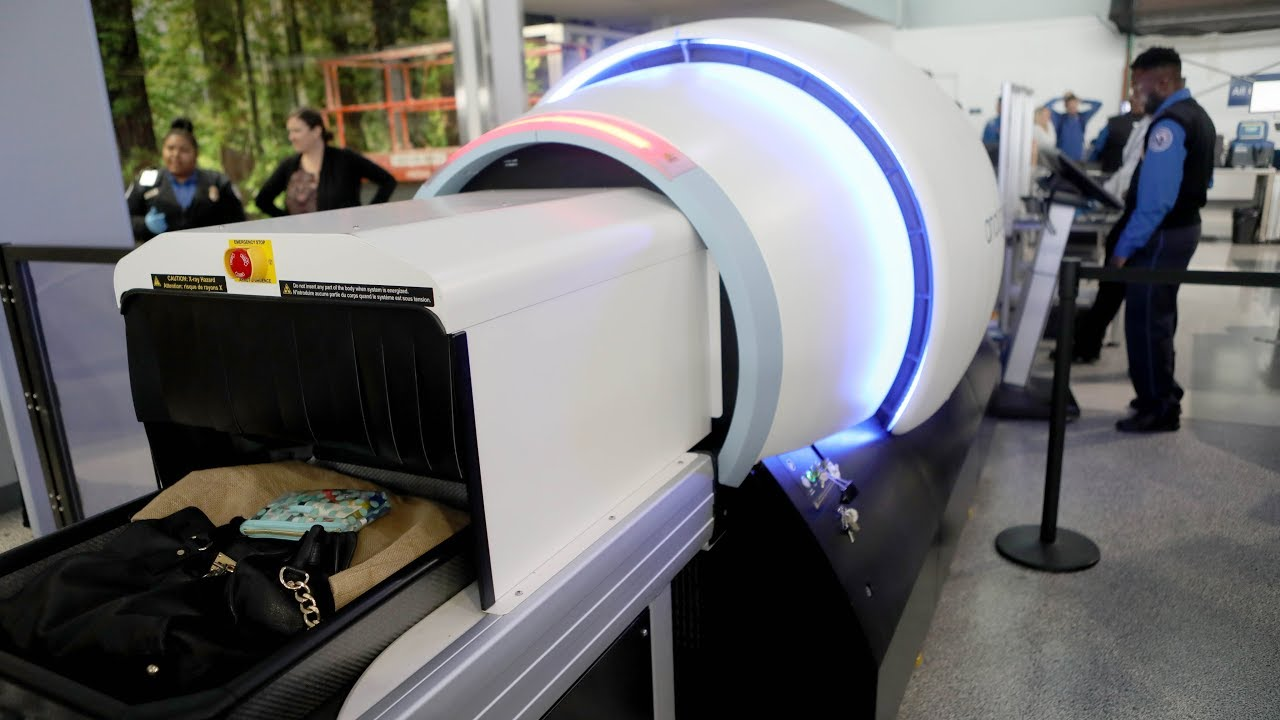 High tech TSA scanners give a closer look at airport baggage