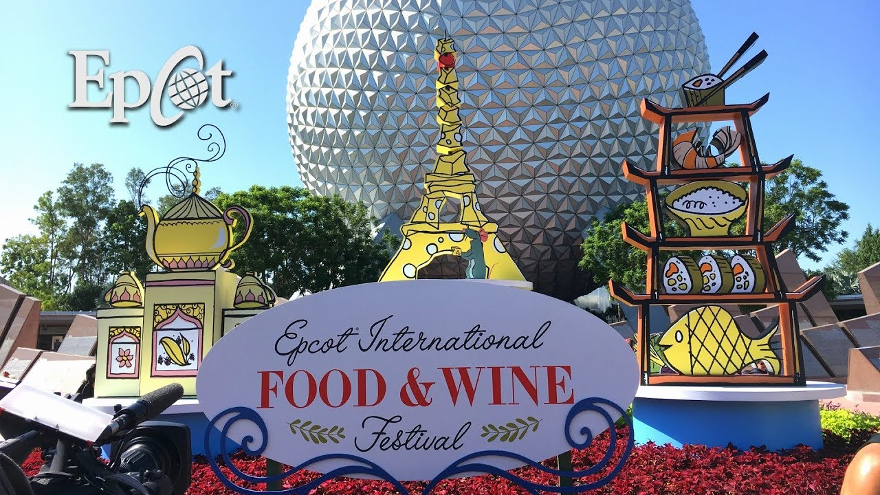 Epcot Food Wine Festival 2017 Food Booths Festival Center