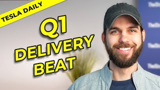 Tesla Beats Q1 Deliveries & Production! + Q&A on TSLA Stock, Full Year Outlook, & More