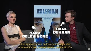 Cara Delevingne y Dane Dehaan nos cuentan de Valerian!