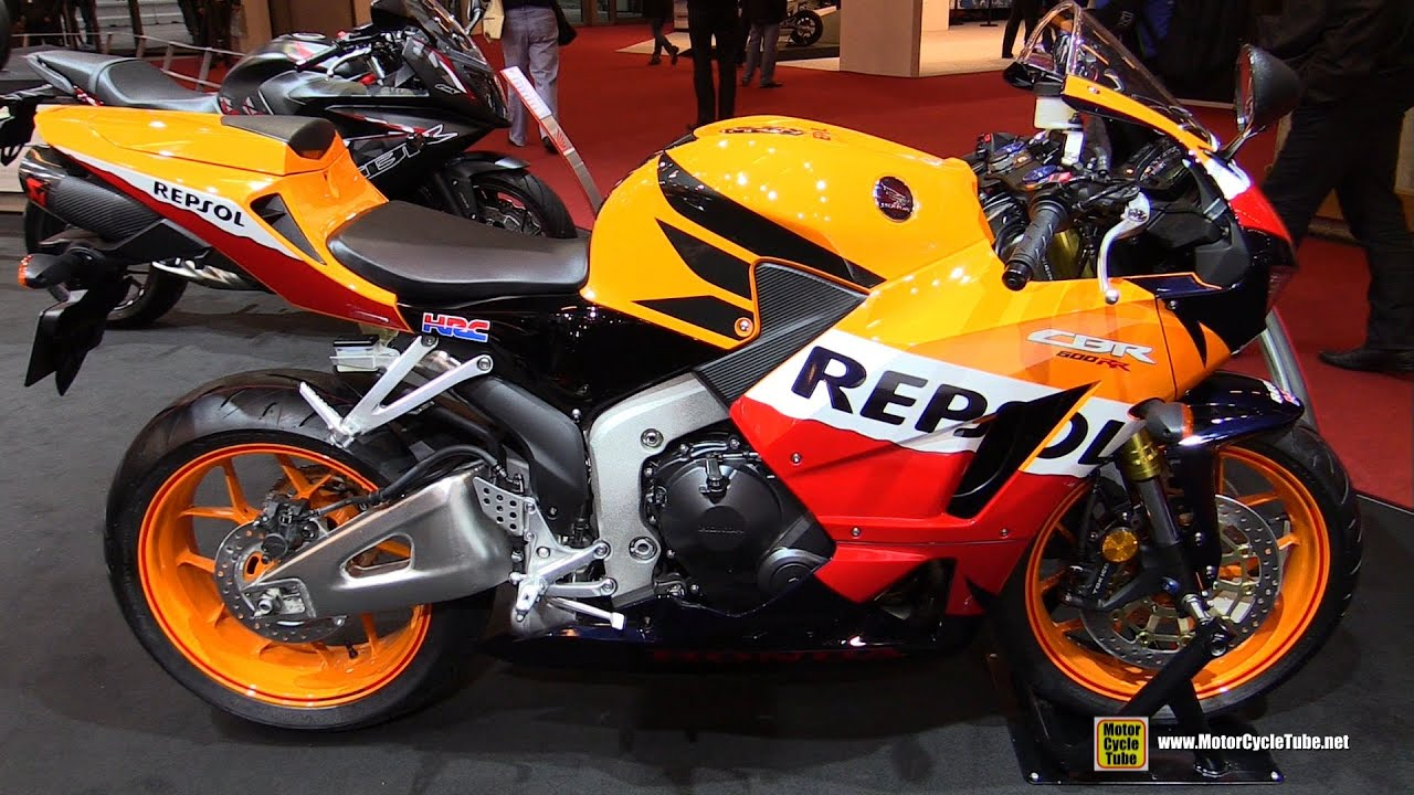 2016 honda cbr600rr repsol walkaround 2015 salon moto. Black Bedroom Furniture Sets. Home Design Ideas