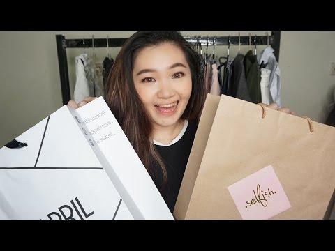 Fashion Haul part 2 - tempat shopping langganan kath ft Selfish