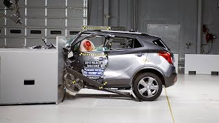 2013 Buick Encore driver-side small overlap IIHS crash test