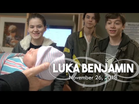 Luka's Birth Story, Our Birth Vlog. Rare PROM Preemie Sunny-Side-Up Labor and Delivery!