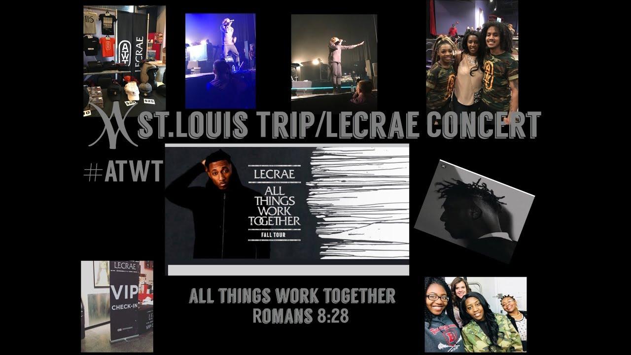 LECRAE CONCERT!!-ST LOUIS TRIP!!