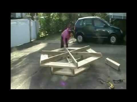 Шестиугольный стол своими руками