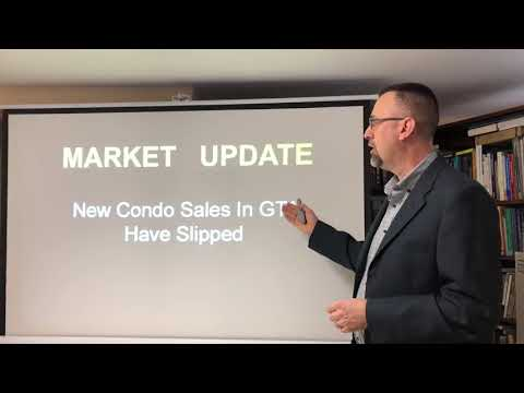 Real Estate Market Update / Newly Built Condos in Greater Toronto Area Have Decreased / GTA Supply