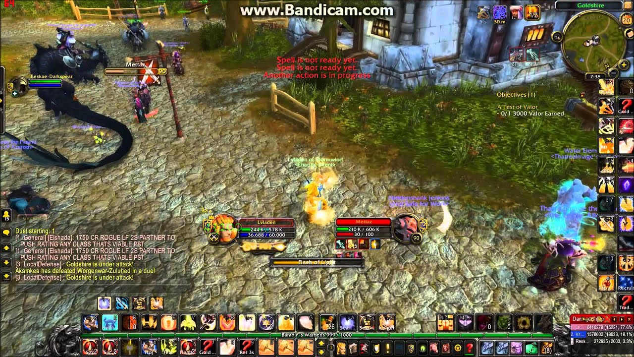 wow 5 4 8 ret paladin pvp duels awesome new intro youtube