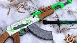 Як зробити АК-47 | Гідропоніка з дерева? Калашников від T. A. R. G.