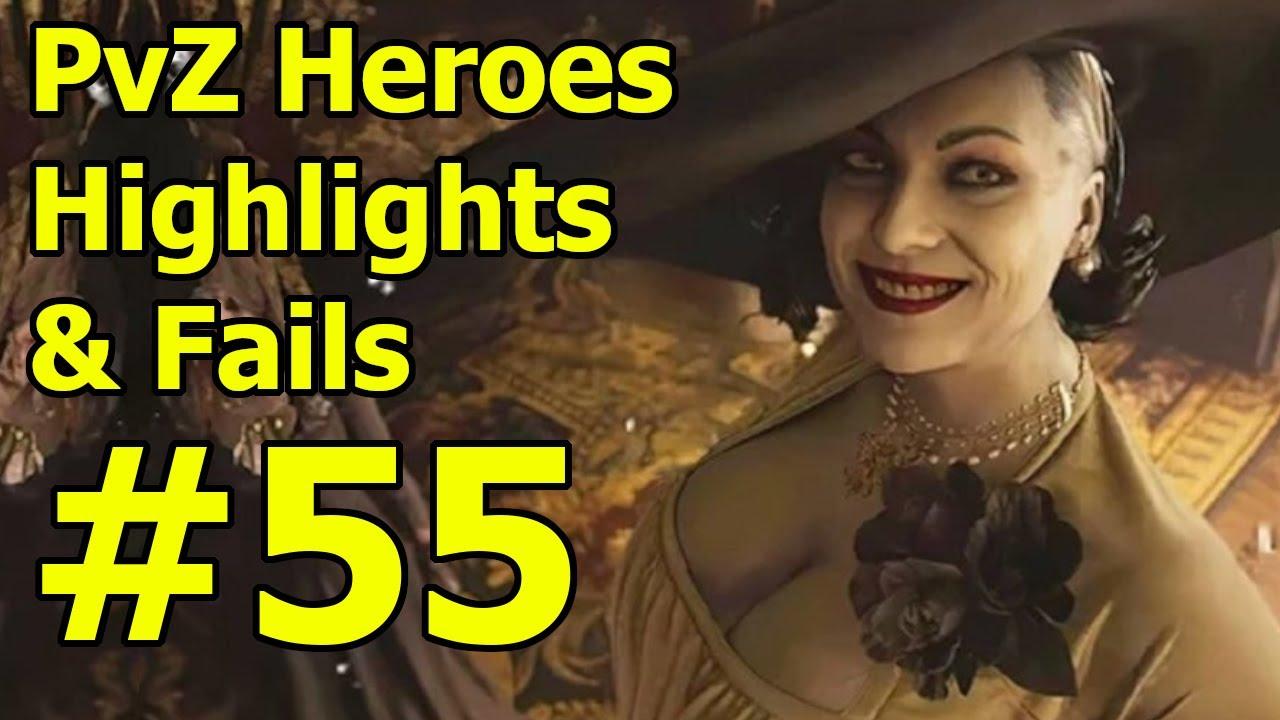 XXL PvZ Heroes Highlights