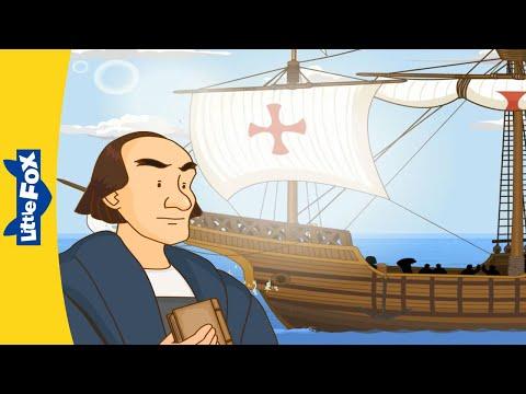 Columbus Day   Meeting Christopher Columbus   Stories for Kids