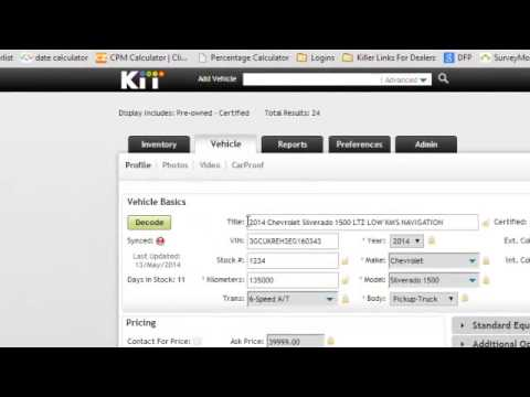 How to add a YouTube Video to Kijiji