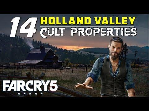 Location Of All Cult Properties Silos In Holland Valley John S