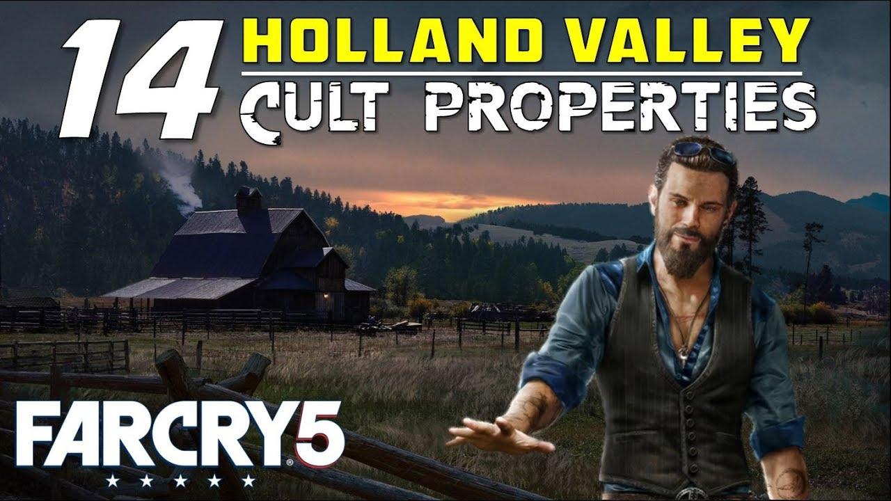 Far Cry 5 Cult Properties Gamerpillar