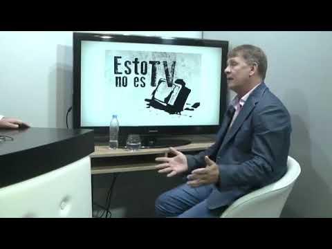 """Rubén Almara entrevistando a Daniel """"RUSO"""" Koch, en el programa """"ESTO NO ES TV"""""""