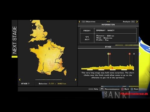 Tour De France 2014 - PS4 - Stage 7 - [ Epernay- Nancy ] - Defending Yellow Jersey