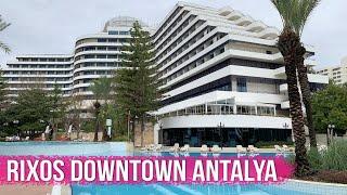 Rixos Downtown Antalya 5 Турция Анталия Подробный Обзор Отеля
