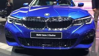 2019 BMW 3 Series G20 Live from Paris Motor Show