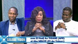 Selebe Yoon du 28 nov. 2018  avec El Hadj Ass THIANE (APR)  et Aba MBAYE (PS des Valeurs)