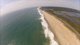 Sarah, Joseph and Noreen soar the skies of the Outer Banks with Coastal Helicopters!