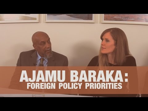 Ajamu Baraka on Foreign Policy: