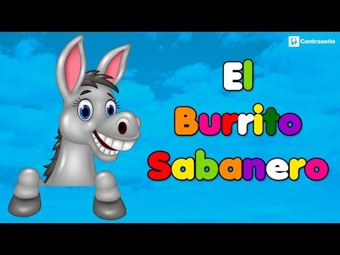 Mi Burrito Sabanero, El Burrito de la Navidad, El Burrito de Belen, Villancico Musica Feliz Navidad