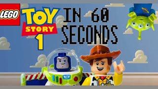Історія іграшок 1 за 60 секунд |Лего відео|