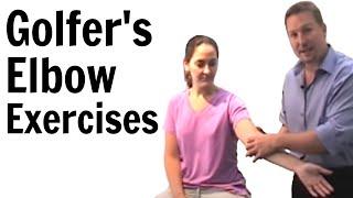 Golfer's Elbow Exercises thumbnail