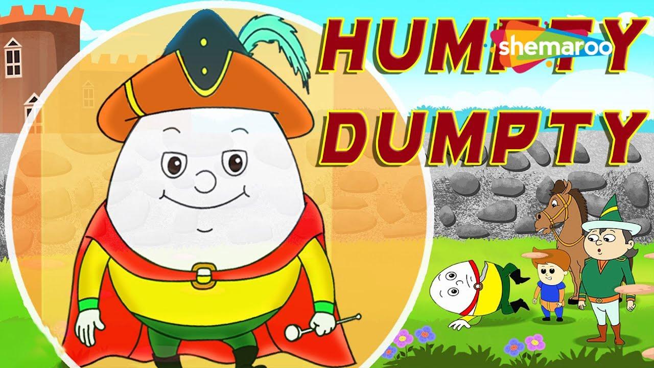 Humpty Dumpty Sat on a Wall (HD) - Nursery Rhymes | Popular Kids ...