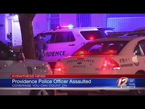 Providence police officer assaulted by suspect