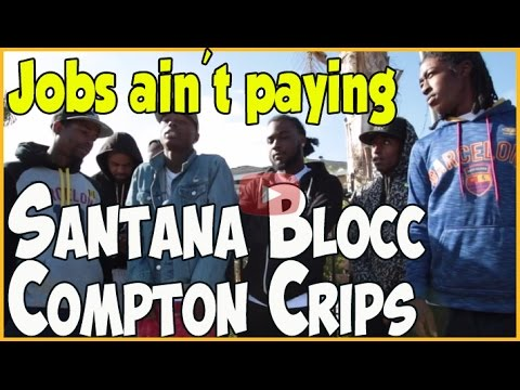 Santana Blocc Compton Crips on sports & music as primary path to success in Black community
