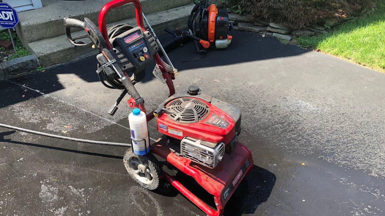 How To Fix Craftsman 2700 Psi Pressure Washer That Won T Start Or Runs Dies Briggs Stratton Youtube