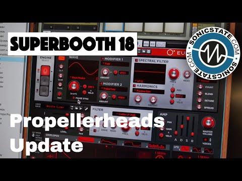 Superbooth 2018 Propellerheads Update First Look
