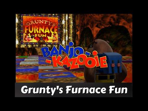 Banjo-Kazooie Walkthrough: Part 11 [Grunty's Furnace Fun ...