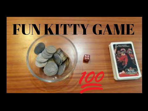 Coins and Cards (Casino Theme Party Game) (Fun game) (Kitty Game)