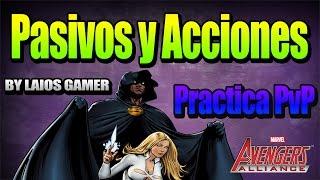 Probando Capa y Daga | Acciones y Pasivos - PVP | Marvel: Avengers Alliance