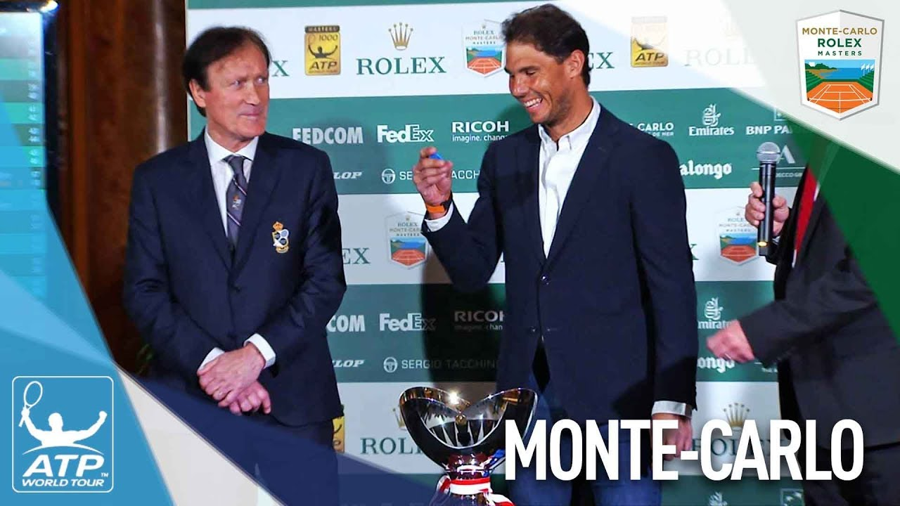 Ten-Time Champion Nadal Assists At Monte-Carlo Draw Ceremony