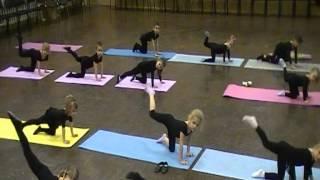 Урок по эстрадному танцу.Дети 4-5 лет.