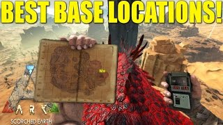 ARK: SCORCHED EARTH - BEST BASE LOCATIONS!