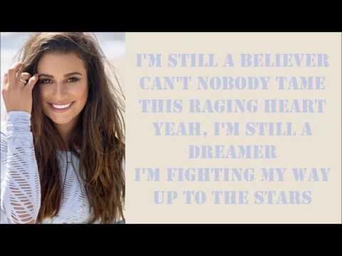Lea Michele ~ Believer ~ Lyrics