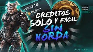 COMO TENER MUCHOS CRÉDITOS (SOLO) Y FÁCIL SIN HORDA NI SPEED RUN EN GEARS OF WAR 4