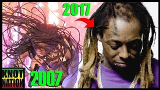 Evolution of Lil Wayne\'s BALD Dreadlocks (2002 - 2017)