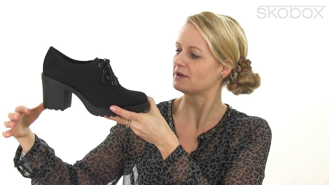 2e41e503c3 Skobox -Super smarte sko fra Vagabond Grace serien lavet i sort kanvas - Køb  Vagabond sko online