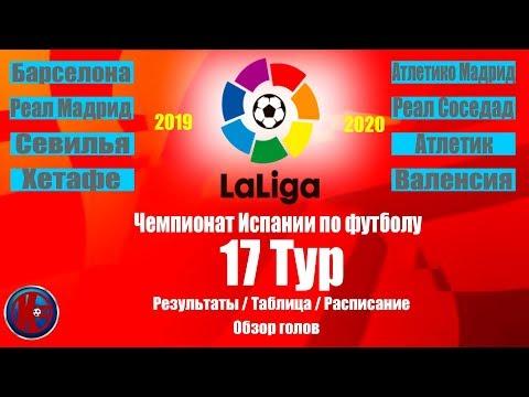6 тур чемпионата испании по футболу