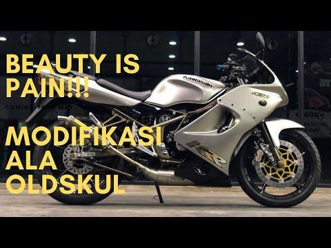 Review ZX 150 Silver:  Modifikasi Ninja RR New ke RR Old Yang Keren Abis!!!