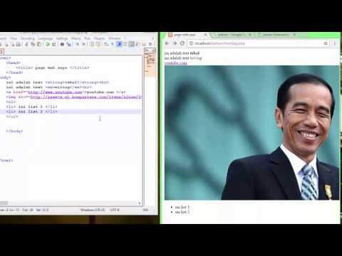Belajar Tag Html Mudah Dan Cepat-tutorial ER Chanel #4