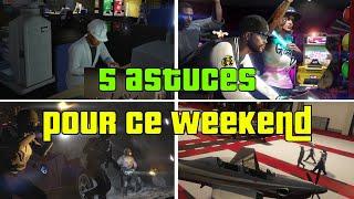 5 Astuces et conseils pour profiter un maximum des promos ce weekend sur GTA Online (2 au 8 juillet)